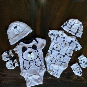 Gerber Matching Sets - Mix & Match Newborn set